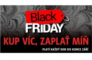 Black Friday vknihkupectví LUXOR! Kup víc, zaplať míň!